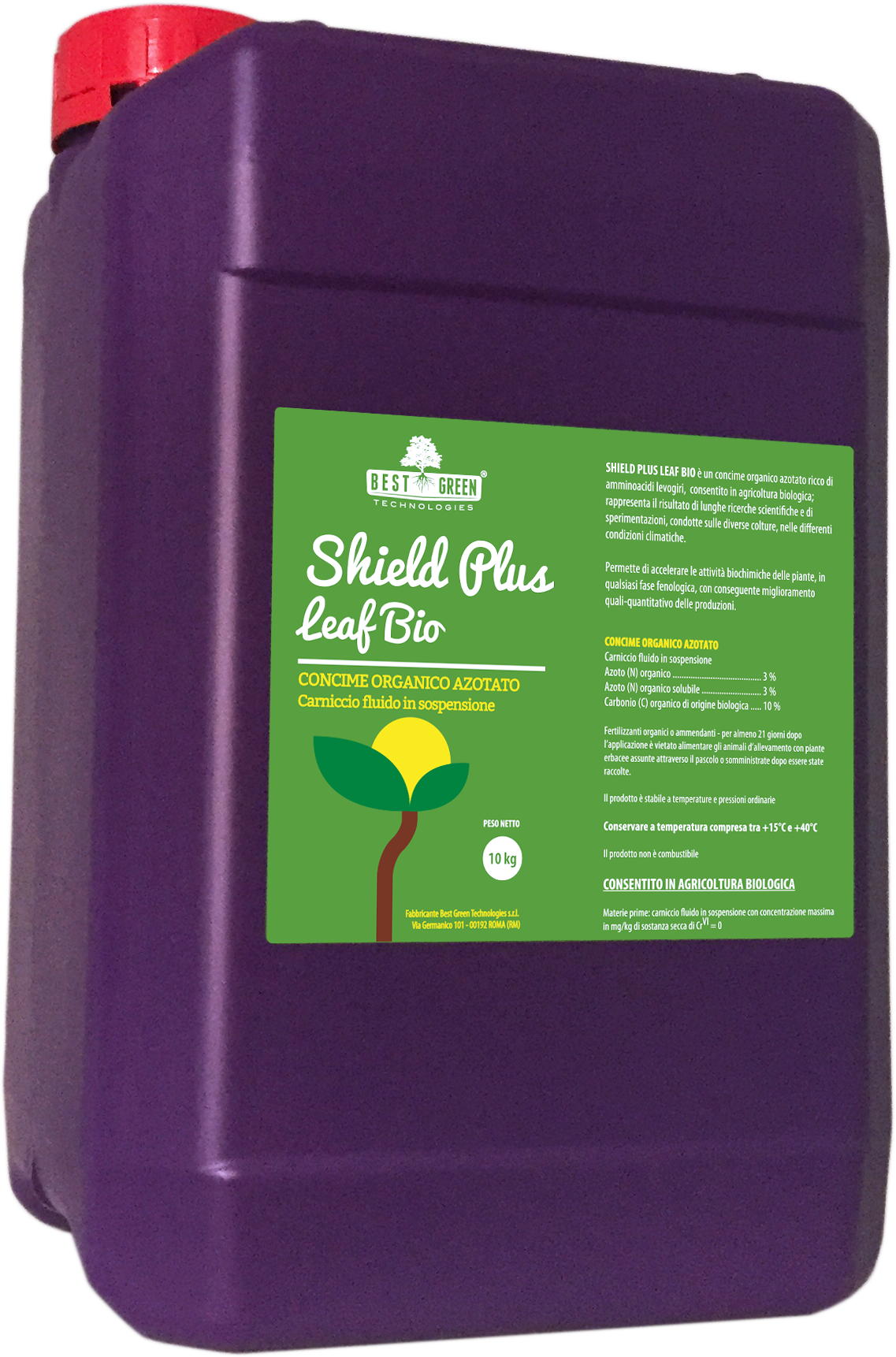 Shield Plus Leaf Bio