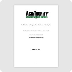 Strawberry Trial Results 08-20-19
